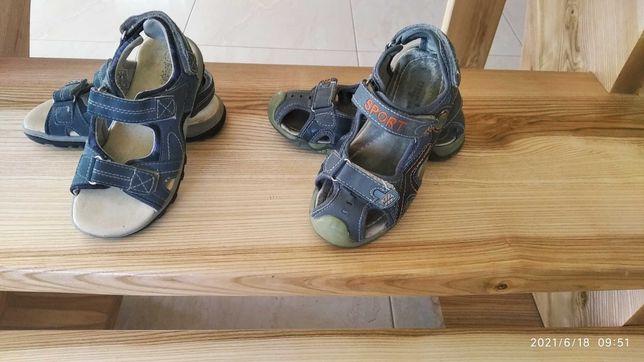 Sandały 31, 32 (19,5-20 cm) 25 zł/ zestaw