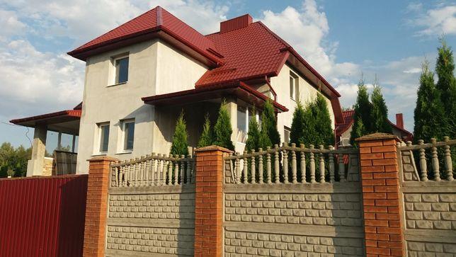Будинок + тимчасівка (жила) на 15 сот.-по ціні одного. в с. В.Омеляник