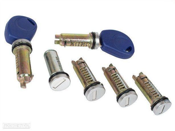 Kit completo de canhões das portas Iveco Daily 2006 a 2009