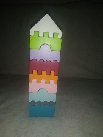 Деревяна пірамідка