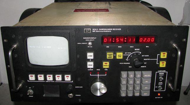 Receptor/Analisador Chirp Sounder BR RCS-5