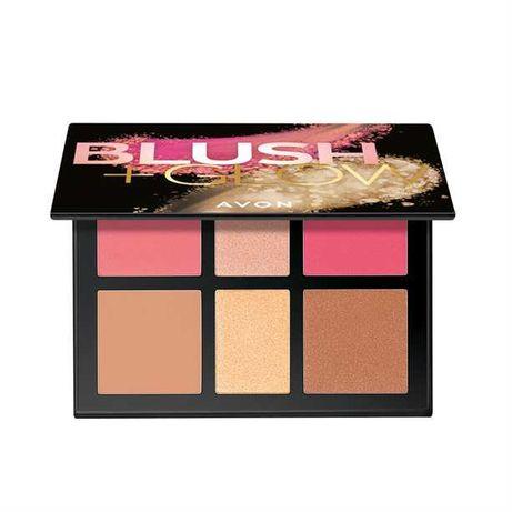Avon, Blush + Glow Palette (Paletka do makijażu twarzy)