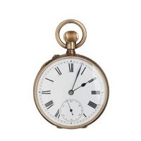 Relógio Bolso Suíço Ouro