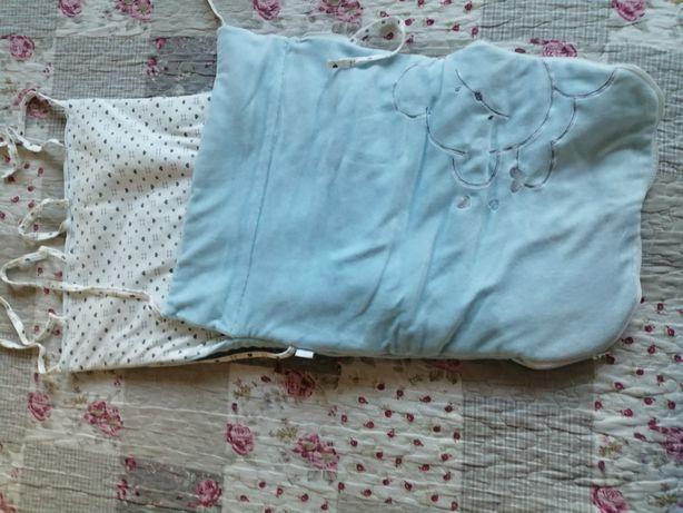 Protetor quentinho de ovo ou como cobertor para bebé
