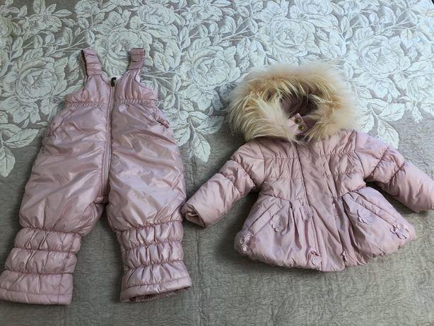 Продам курточку з напівкомбінезоном.