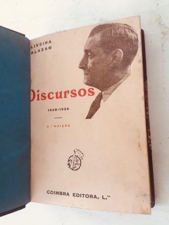 Salazar - Discursos e Notas Políticas, vol. I, II e III