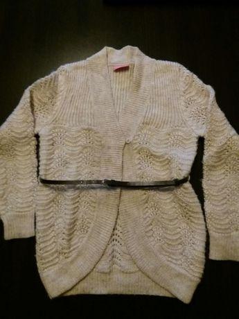 Продам светр кардиган на дівчинку 122-128см