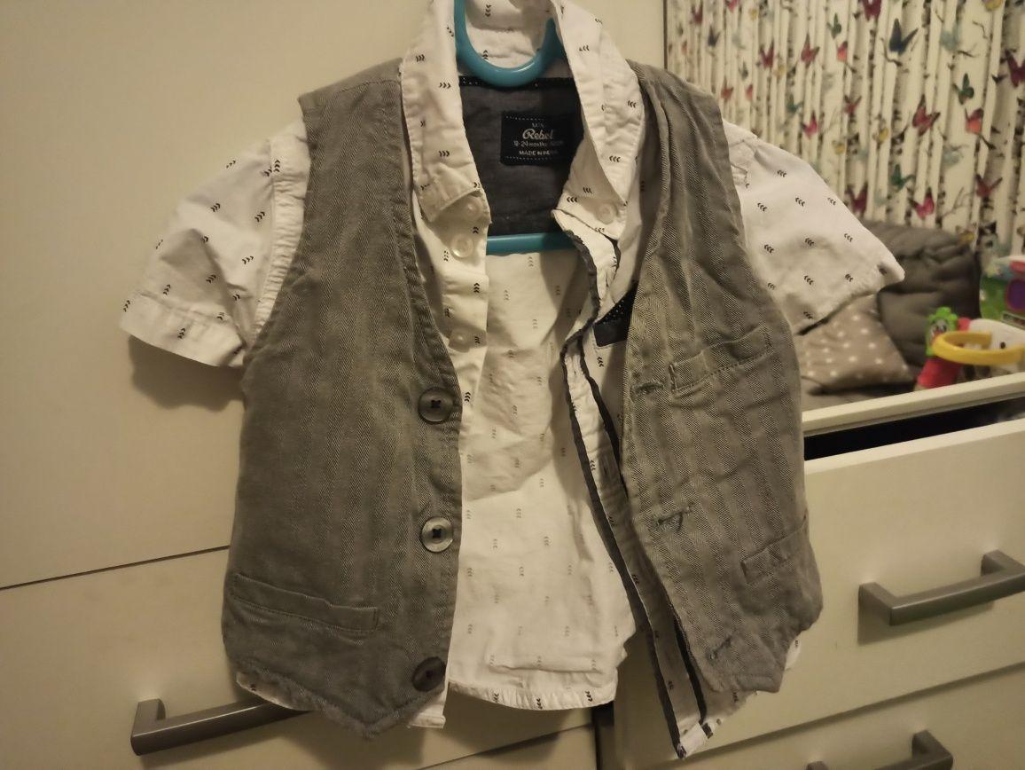 Kuszula i kamizelka H&M i C&A