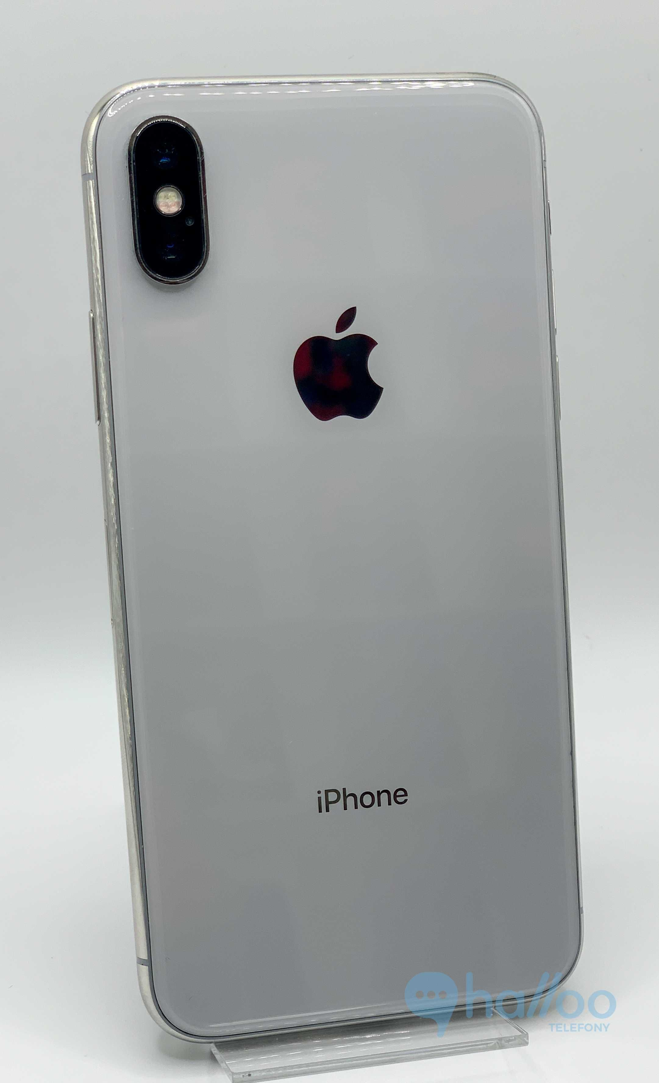 iPhone Xs 64GB Silver | Gwarancja ROK | Gratisy Sklep Halloo Gdynia