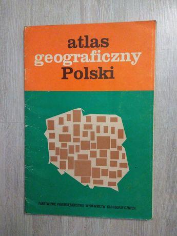 Atlas geograficzny Polski dla kl. III liceum