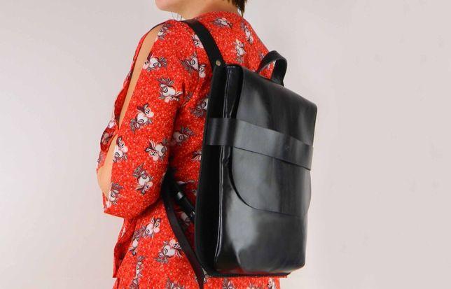 """Сумка-рюкзак """"Piatto"""". Дизайнерское изделие из натуральной кожи."""