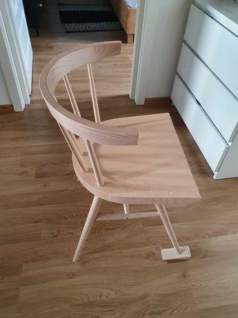 Krzesło Ikea MARKERAD krzesło Virgil Abloh lity buk