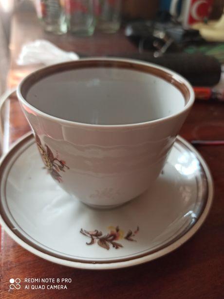 Продам чашку с блюдцем(рр-ство Барановка)