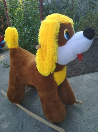 Продам игрушку кочалку-собаку.