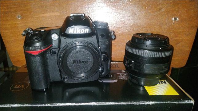 Фотоаппарат Nikon D7000 Body + Nikon AF-S DX NIKKOR 35mm f/1.8G