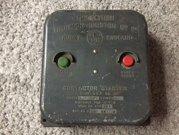 Stare urzadzenie elektryczne