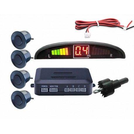 Kit 4 Sensores Estacionamento de Automóvel c/ Disp
