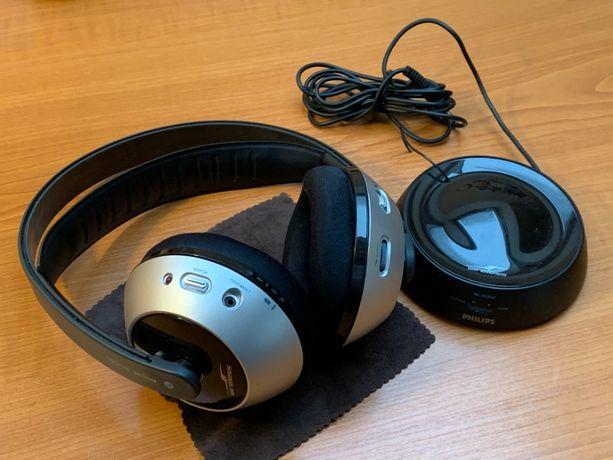 Bezprzewodowe słuchawki Philips SBC HC8445