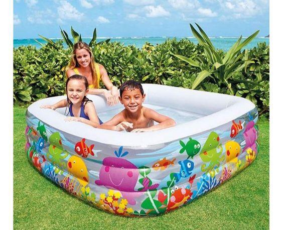 Intex 57471 детский надувной бассейн Аквариум