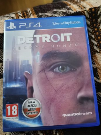 Detroit become human PL stan idealny PS4