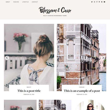 Tema Wordpress para blog/website/loja online