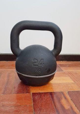 Haltere Kettlebell Decathlon 24 kg.