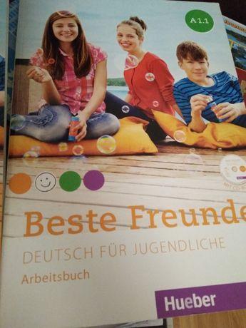 Немецкий А1, учебник и тетрадь
