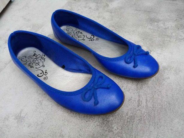 baleriny niebieskie 39