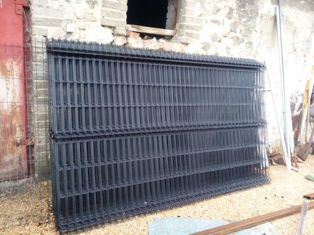 Panele ogrodzeniowe 3D