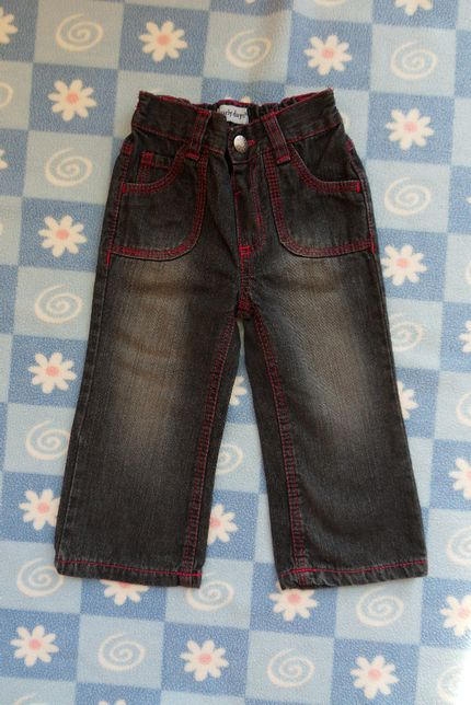 Spodnie dżinsowe rozm. 86 dla dziewczynki