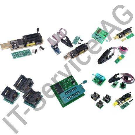 Программатор CH341A прищепка адаптер 1.8V SOP8-16 150 200-209 300mil