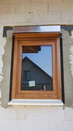 NOWE okno i roleta OKNOPLAST WINERGETIC 770X1310mm