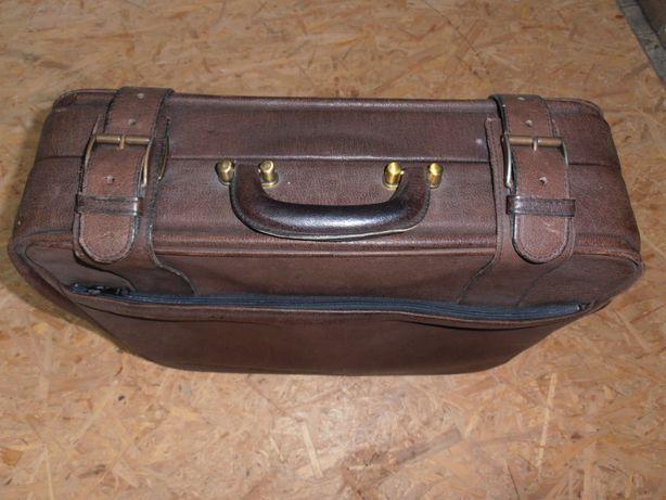 Torba,walizka podróżna,skórzana,klasyk
