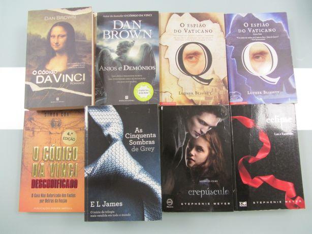 Livros Dan Brown e Outros