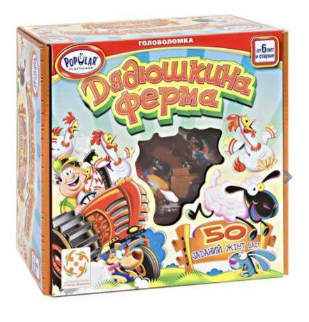 Игра головоломка настольная Дядюшкина ферма от Стиль жизни