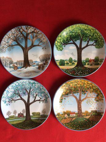Коллекционные тарелки Времена года