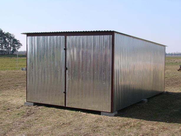 Garaż blaszak 3x5 1550zl
