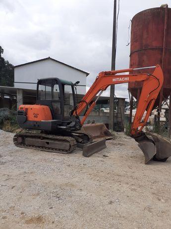 Mini escavadora hitachi zx 40