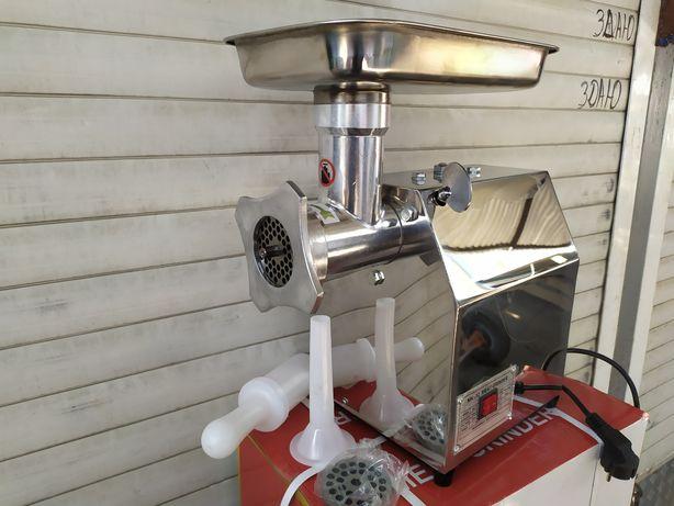 Электрическая мясорубка МК-12 промышленная профессиональная 220 вольт