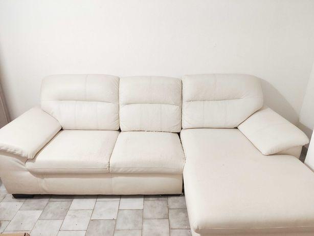 Sofá 3 lugares com chaise longue IKEA