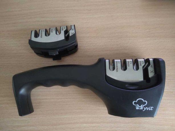 Точилка Myvit для ножей 4-в-1 + запаска (комплект)
