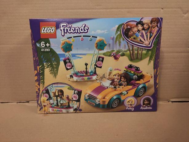 LEGO friends Samochód i scena Andrei 41390