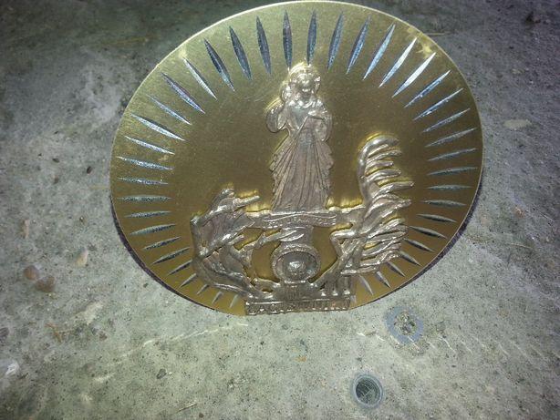 metalowy złoty obraz z motywem religijnym kolekcja