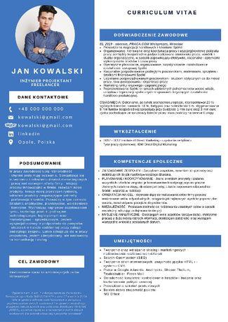 Pisanie profesjonalnego Cv i Lm, tłumaczeina, zdjęcia biznesowe