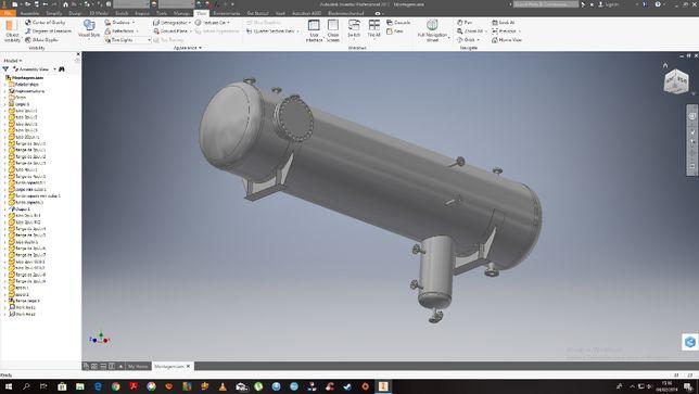 Executam-se Desenhos em AutoCad 2D, SolidWork 3D, Inventor 3D