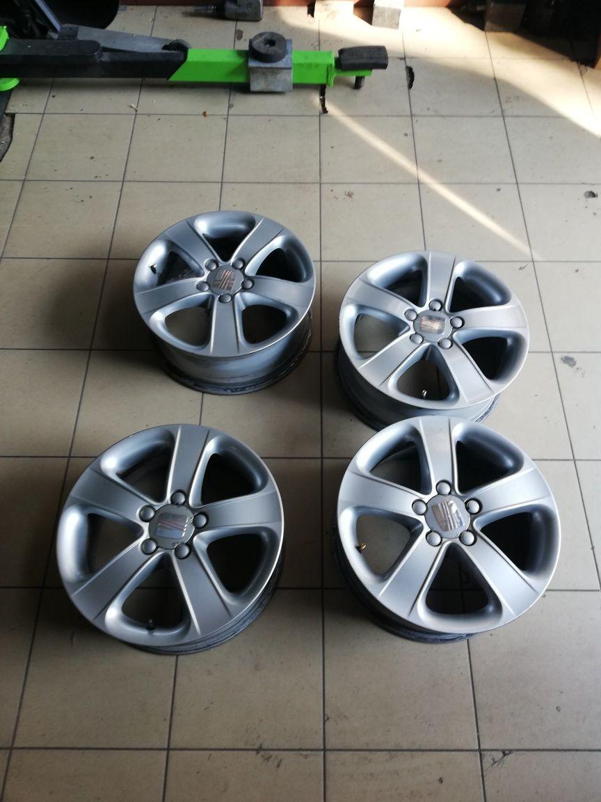 FELGI ALUMINIOWE 5x112 ET50 6,5x16 Seat LEON Altea VW Golf Audi Skoda