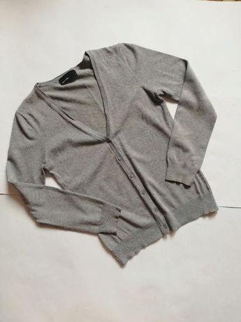 Серый картиган vero moda сірий светр кофта надидка