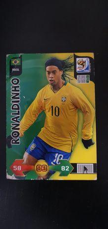 Ronaldinho, Brasil. Carta Panini