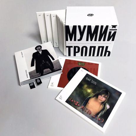 CD диски Мумий Тролль. 20 Лет МТ: 1997‒2017 (12CD Box Set)