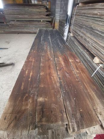 Stare deski belki dębowe stare drewno